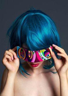 I truely love: Blue Hair
