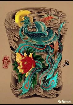 Koi Tattoo Design, Japan Tattoo Design, Tattoo Designs, Japanese Dragon Tattoos, Japanese Tattoo Art, Mini Tattoos, Sexy Tattoos, Phoenix Back Tattoo, Buddha Tattoos