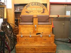 Vintage Shoe Shine Chair