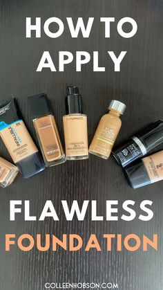 One of the most frequent makeup inquiries I get is about how to apply foundation flawlessly. Here are my tips for smooth crease-free foundation everytime. Face Contouring Makeup, Flawless Face Makeup, Drugstore Contouring, Drugstore Beauty, Makeup Brush, Makeup Dupes, Skin Makeup, Makeup Tutorial Foundation, No Foundation Makeup