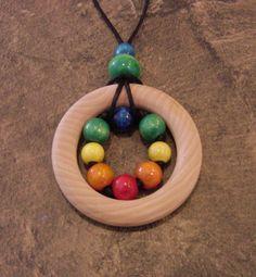 Teething Necklace @TheWoodChucksWood #teething #necklace #nursing #breastfeeding