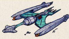 Klingon Empire, Star Trek, Sci Fi, Stars, Science Fiction, Starship Enterprise, Sterne, Star