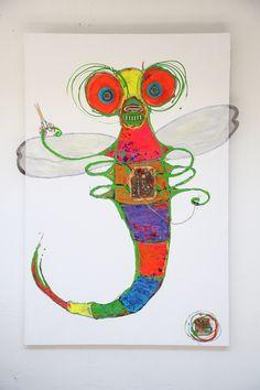 DMR Art Studio Moose Art, Studio, Gallery, Artwork, Artist, Painting, Animals, Work Of Art, Animales