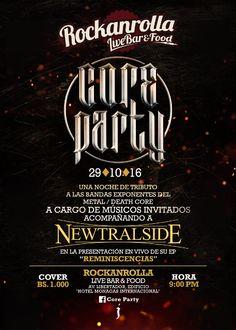 Core Party 2016 http://crestametalica.com/events/core-party-2016/ vía @crestametalica