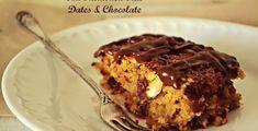 Κέικ με Βρώμη, Χουρμάδες, Αμύγδαλο και Σοκολάτα Greek Desserts, Cookie Desserts, Greek Recipes, Fun Desserts, Snack Recipes, Snacks, Cake Cookies, Cooking Time, Food Processor Recipes