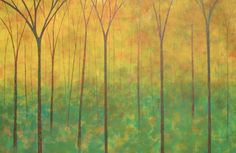 """""""APPALACHIAN FOREST II"""" by Herb Dickinson, South Carolina // The eclectic energy of Herb Dickinson describes his love of variety in painting, from realistic landscapes with wonderful detail and use of light, to whimsy abstracts. Collected internationally and published, he is listed in the International Dictionary of Artist.Thank you f... // Imagekind.com -- Buy stunning fine art prints, framed prints and canvas prints directly from independent working artists and photographers."""