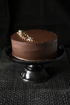 CHOCOLATE AND LIQUORICE CAKE — JOHN WHAITE