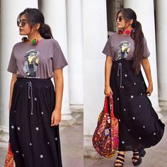 "10.1k Likes, 105 Comments - Kritika Khurana (@thatbohogirl) on Instagram: ""You do you Boo Bag & Earrings @the_hypeshop  Heels @hm"""