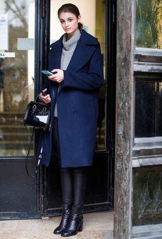 runwayandbeauty: Beautiful Taylor Marie Hill outside Viktor...