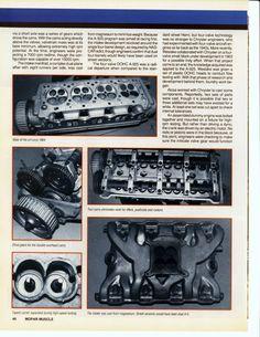 "1964 Mopar 426 DOHC Hemi ""Dooms Day Machine"" Page 3 Hemi Engine, Motor Engine, Car Engine, Engine Working, Plymouth Cars, Dodge Muscle Cars, Nhra Drag Racing, Race Engines, American Muscle Cars"