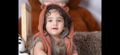 Baby photoshoot little bear