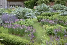 Village Manor House Garden: Located somewhere in England. Designed Nicholson's Garden Design & Landscaping