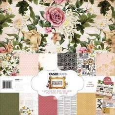 Kaisercraft - Treasured Moments Collection - 12 x 12 Paper Pack