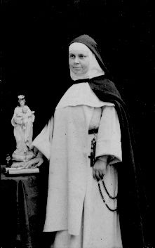 Mother Rose of St. Mary Wehrle, O.P., Co-Foundress of the Dominican Sisters of the Perpetual Rosary. Mother Rose came from the Dominican Monastery of the Holy Rosary at Mauleon in northern France, to help Father Saintourens with the foundation.