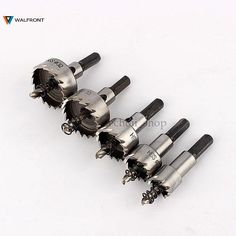 Cheap drill bit stainless steel, Buy Quality wood drill hole directly from China hss drill bit Suppliers: Hole Saw Set Carbide Tip HSS Drills Bit Stainless Steel Metal Alloy Wood Drilling Hole Cutter Tool Wooden Christmas Crafts, Best Hand Tools, Stainless Steel Alloy, Dewalt Tools, All Tools, Nails And Screws, Diy Calendar, Tools Hardware, Drilling Holes