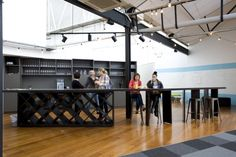 The Icehouse Coworking Offices by Spaceworks, Auckland – New Zealand » Retail Design Blog