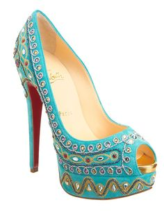Obsessed with these Bollywood shoes @Barneys New York
