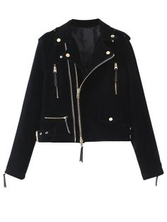 SHARE & Get it FREE | Lapel Velvet Biker Jacket - CadetblueFor Fashion Lovers only:80,000+ Items • New Arrivals Daily Join Zaful: Get YOUR $50 NOW!