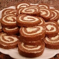 "Granny Kat's Pumpkin Roll | ""I make this pumpkin roll often! It's always a hit and SO easy!"""