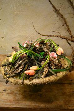 Bouquet réalisé lors d'un cours d'art floral durant un séjour de 3 semaines en Suède par les bp.CFA Blagnac (France).
