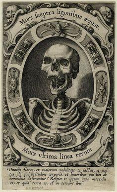 MORS ULTIMA LINEA RERUM Egbert van Panderen Engraving, 1610-20 …