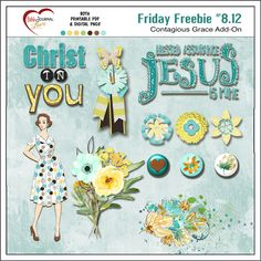 Friday Freebies: Grace Add-On Love Journal, Journal Cards, Bible Journal, Bible Love, Faith Bible, Bible Verses, Pocket Bible, Journaling, Project Life Album