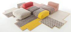 Gan Hocker-Poufs Hocker Mangas Rhombus | Designbest
