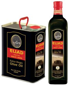 Eliad produces the finest extra virgin olive oils from its own hi-tech plantations in northern Israel. The state-of-the-art mill and factory allow strict quality controls to preserve the unique characteristics of the exquisite, aromatic and full-bodied olive oil from the Holy Land.
