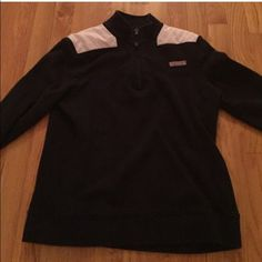 Vineyard Vines navy shep shirt Only selling because it is too small on me. In great condition, nothing wrong with it! Pale pink and white stripes on top. Not fleece lined, perfect for this time of year through the fall! Vineyard Vines Jackets & Coats