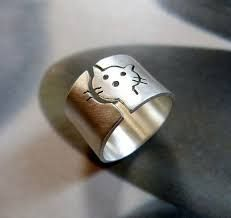 Resultado de imagen para anillos alpaca y cobre