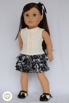 American girl doll clothes  Designed tee & by PricessPrincess
