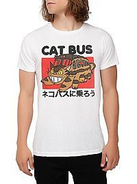Josh or Rebekah   HOTTOPIC.COM - Studio Ghibli My Neighbor Totoro Catbus T-Shirt