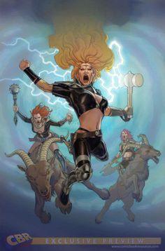 Thor: God of Thunder #33 by Esad Ribic *