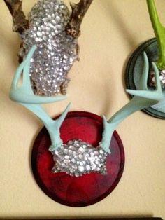 Diamond skull mount