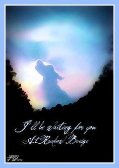 Paw's On My Heart: Rainbow Bridge Artwork by Terri Davis Dog Poems, Dog Quotes, Animal Quotes, I Love Dogs, Puppy Love, Miss My Dog, Pet Loss Grief, Pet Remembrance, Dog Heaven