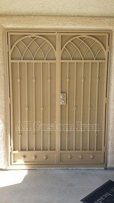 custom iron french door  www.allcustomirongates.com/ #Allcustomiron #LasVegas