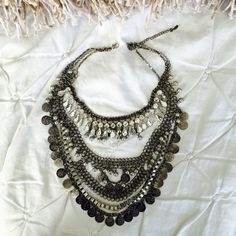 On Sale today Free  People Boho Necklace Chic bohemian necklace from Free People.  It is gorgeous.  Dress up or down.  For you or a gift!   Free People Jewelry Necklaces