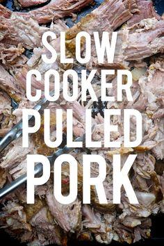 Slow Cooker Pulled Pork on Shutterbean.com
