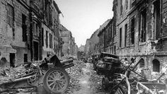 Berlin at the end of the War, 1945 - In the last days the fight happened road to road.