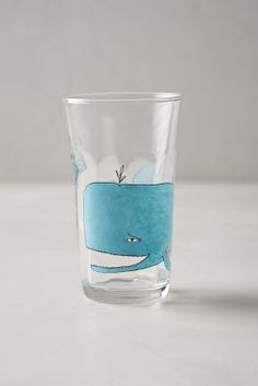 Molly Hatch Menagerie Juice Glass