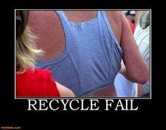 Recycle Fail