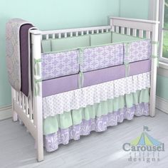 pinterest beachy decor with mint green beach | breathtaking purple baby bedding on pinterest