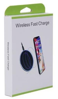 2 x Fast USB Wireless Mobile Phone Chargers   Qi-Certified Wireless Charging Pad