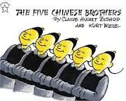 I loved this book growing up! The Five Chinese Brothers
