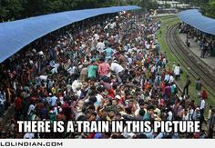 Just to let you know there is a train in this picture
