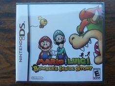 Mario & Luigi: Bowser's Inside Story Nintendo DS Video Game NEW Sealed Complete http://r.ebay.com/YfXPZW @eBay #nintendo #nds #nintendods