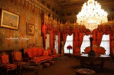 Reception Hall at Dolmabahce Palace (Istanbul, Turkey)