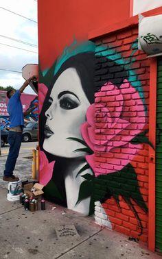Wynwood Walls art district in Miami via http://amplificationinc.com/