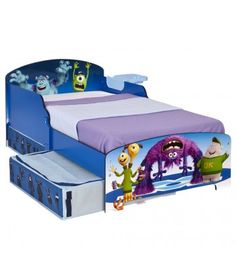 Monsters University Junior Bed