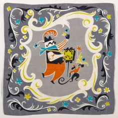 Mary Blair Handkerchiefs